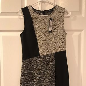 Kenneth Cole Black and White Dress
